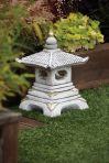 One Tier Japanese Pagoda Lantern - Chinese Garden Ornament