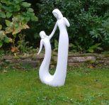 Pure Love Modern Contemporary Sculpture - Large Garden Statue