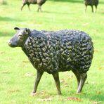 Sheep Life-Size Bronze Metal Garden Statue