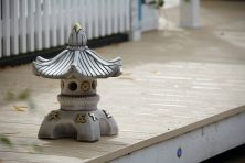 Single Top Japanese Pagoda Lantern - Chinese Garden Ornament