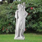 St. Christopher 199cm Religious Sculpture - Marble Garden Statue