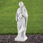 St. Joseph 30cm Religious Sculpture - Marble Garden Statue
