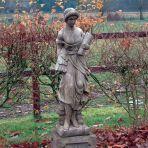 Summer Maid Stone Sculpture - Large Garden Statue