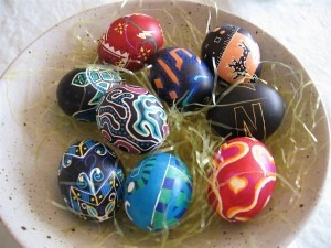 Easter egg hunting tips from your garden statue