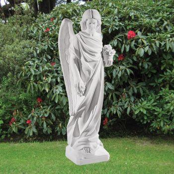 Angel Figurine 103cm Religious Sculpture - Marble Garden Statue