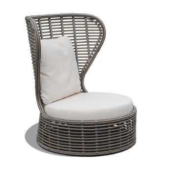 Bakari Rattan Armchair Garden Furniture