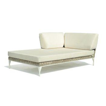 Brafta Rattan Right Chaise Lounge Garden Furniture