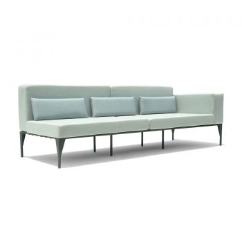 Brenham Left Sofa Garden Furniture