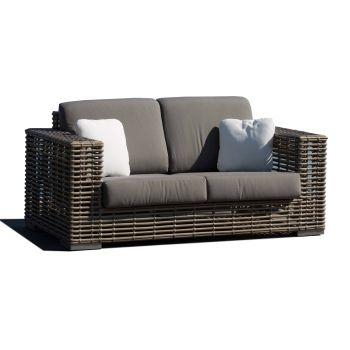 Castries Rattan Love Seat Sofa Garden Furniture