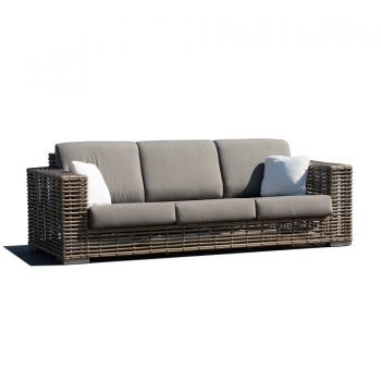 Castries Rattan Sofa Garden Furniture