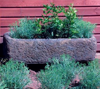 Country Stone Plant Trough - Large Garden Trough