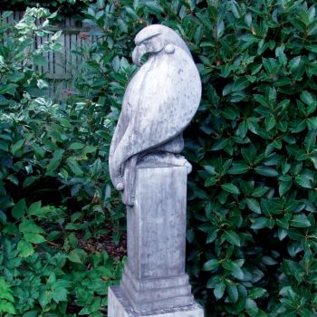 Eagle Modern Sculpture (Slate) - Large Garden Statue