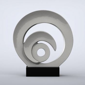 Eclipse Contemporary Indoor Sculpture - 16 Colour Options