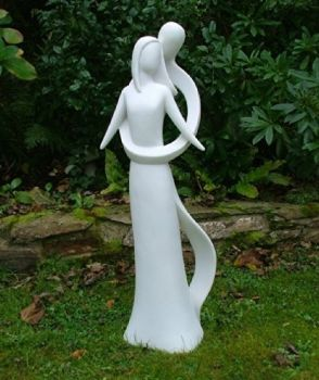 Everlasting Love 85cm Modern Contemporary Sculpture - Garden Statue