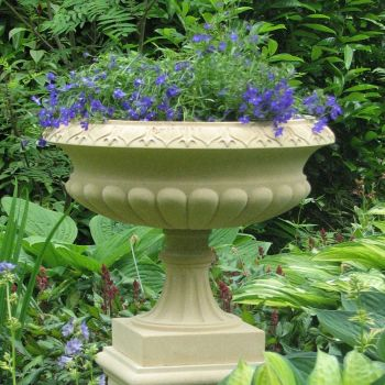 Georgian Stone Plant Tazza - Large Garden Planter