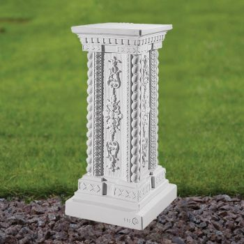 Grand 58cm Pedestal Column - Marble Statue Plinth