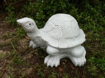 Granite Tortoise Statue - Large Garden Ornament