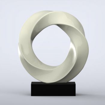 Halo Contemporary Indoor Sculpture - 16 Colour Options