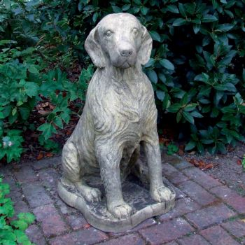 Irish Setter Dog Sculpture - Large Garden Statue