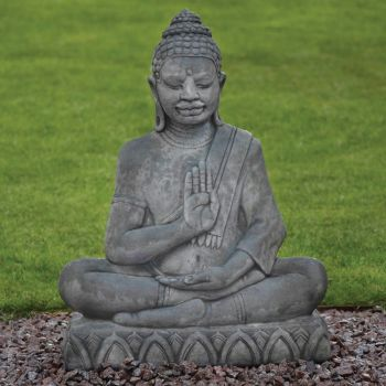 Java Stone Buddha Statue - Large Garden Ornament