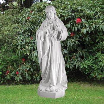 Jesus Christ 185cm Religious Sculpture - Marble Garden Statue