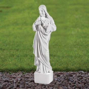 Jesus Christ 42cm Religious Statue - Marble Garden Ornament