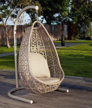 Journey Rattan Hanging Chair Garden Furniture