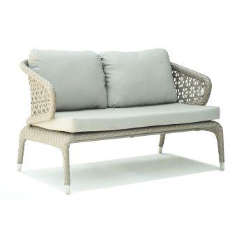 Journey Rattan Love Seat Sofa Garden Furniture