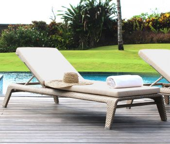 Journey Rattan Sun Lounger Garden Furniture