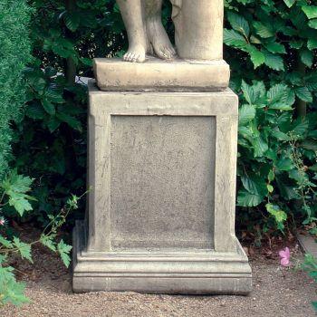 Large Column Pedestal - Stone Statue Plinth