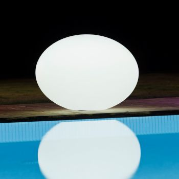 LED Oval Sphere 20cm Outdoor & Indoor Lighting