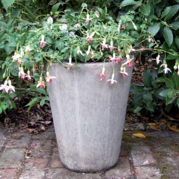 Long Tom Vase Stone Plant Pot - Large Garden Planter