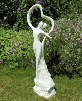 Love & Dancing Modern Garden Statue - Large Contemporary Sculpture