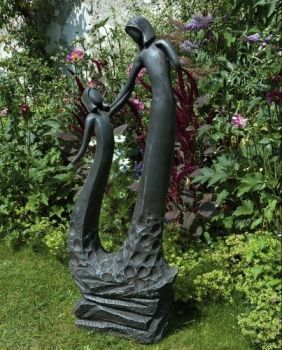 Loving Mother Modern Garden Statue - Large Contemporary Sculpture