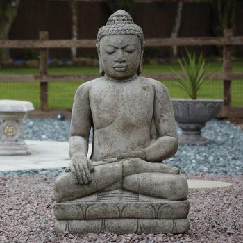 Mega Stone Buddha Statue - Large Garden Ornament