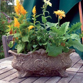 Modena 26 Stone Vase Plant Pot - Large Garden Planter