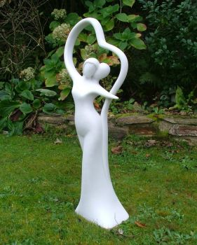 Modern Romance Contemporary Sculpture - Large Garden Statue