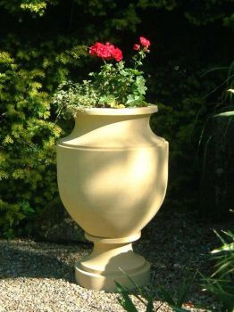 Neaopli Stone Plant Vase - Large Garden Planter