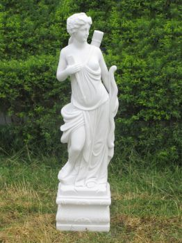 Nude Adonia Sculpture - Large Garden Statue Ornament Art