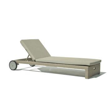 Pacific Breeze Rattan Sun Lounger Garden Furniture