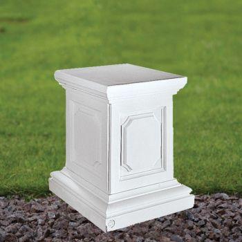 Plain 36cm Pedestal Column - Marble Statue Plinth