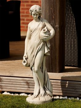 Purity Maiden Stone Sculpture - Large Garden Statue