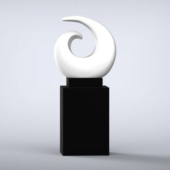 Revolve Contemporary Sculpture - 16 Colour Options