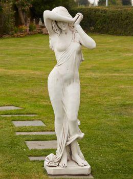 Shy Maiden 160cm Stone Sculpture  - Large Garden Statue