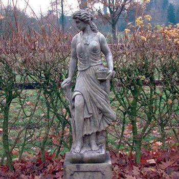 Spring Maid Stone Sculpture - Large Garden Statue