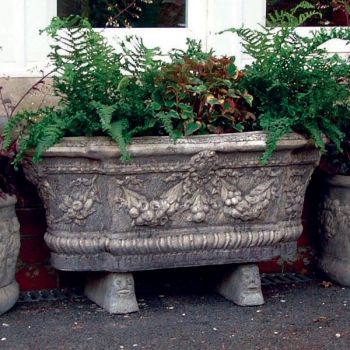 Swagg Stone Plant Trough - Large Garden Trough