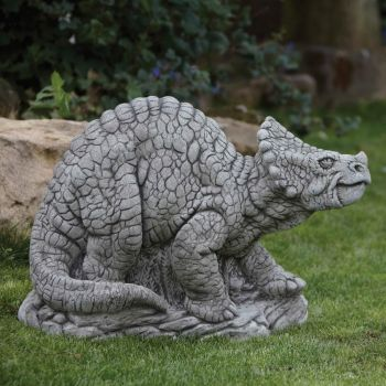 Triceratops Dinosaur Statue - Large Garden Ornament