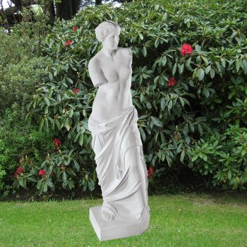 Venus de Milo 42cm Greek Garden Sculpture - Large Marble Statue