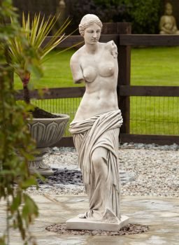 Venus de Milo Classic Stone Sculpture - Large Garden Statue
