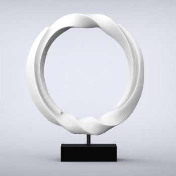 Vortex Contemporary Indoor Sculpture - 16 Colour Options